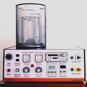 tecuum ag, Vacuum Evaporators, Applied Vacuum Technology